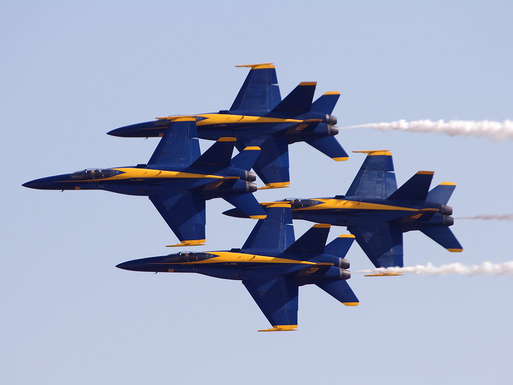 City Seeks To Ban Blue Angels From Flying Over Because Of The 'Terror' They Cause