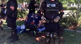 Multiple Stabbings Reported At Neo-Nazi Rally In Sacramento