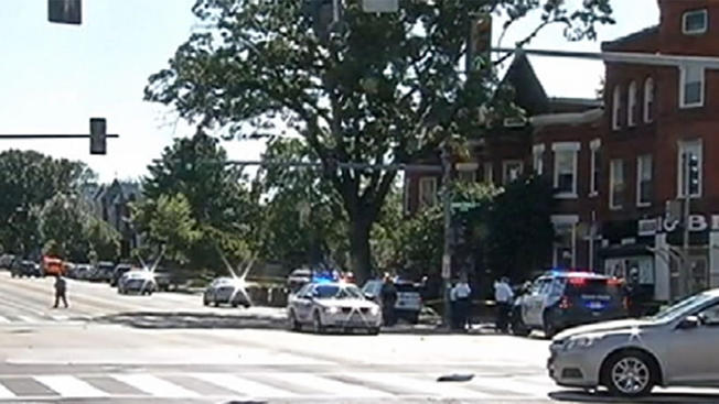 Breaking: 4 Shot At D.C. Intersection, Officer Struck By Car