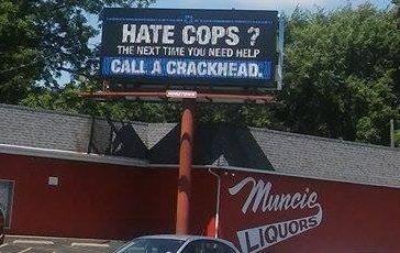 'Hate Cops?' Billboard Causes Uproar