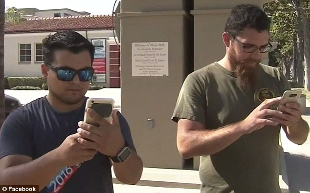 Two Marines Playing 'Pokémon Go' Help Catch Attempted Murder Suspect