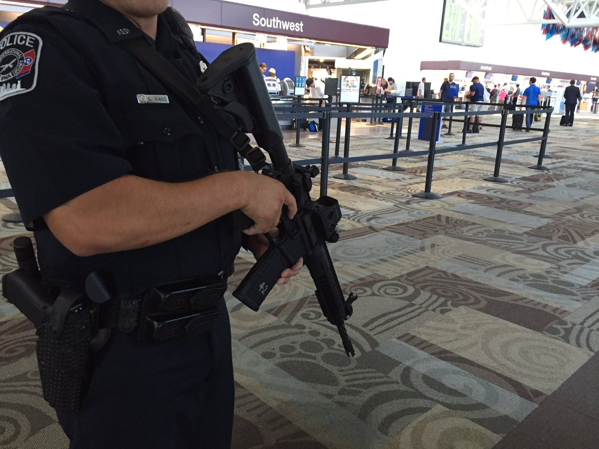 Nashville International Airport Increases Security