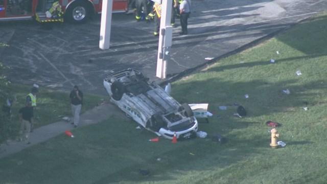 Missouri Police Officer Seriously Injured In Crash