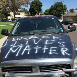 Navy Seal Discovers Black Lives Matter Vandalism