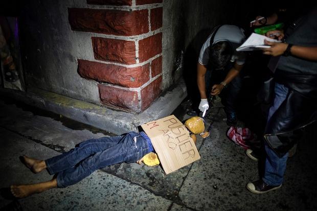 Police War On Drugs 'Die Or Surrender' Order Has Left 400 Suspects Dead