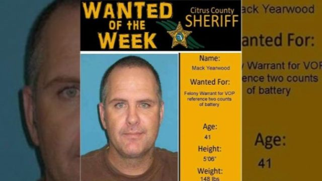 Man Arrested After Using His Own Wanted Poster For Facebook Photo