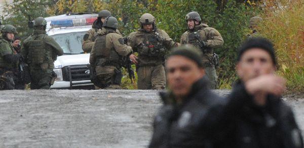 Alaska Police Officers Shot