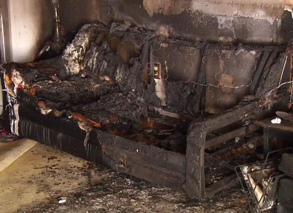 Republican Headquarters Firebombed