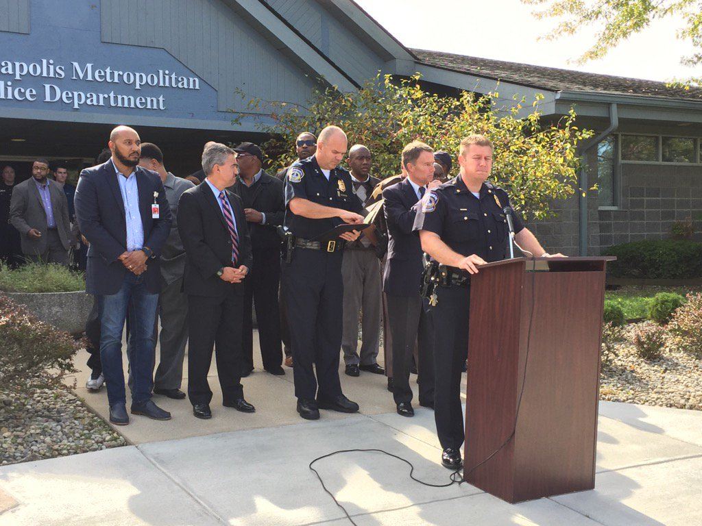 Indianapolis Police Stations Continue To Be Shot