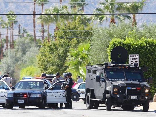 Suspect Arrested In Deaths Of 2 Palm Springs Officers