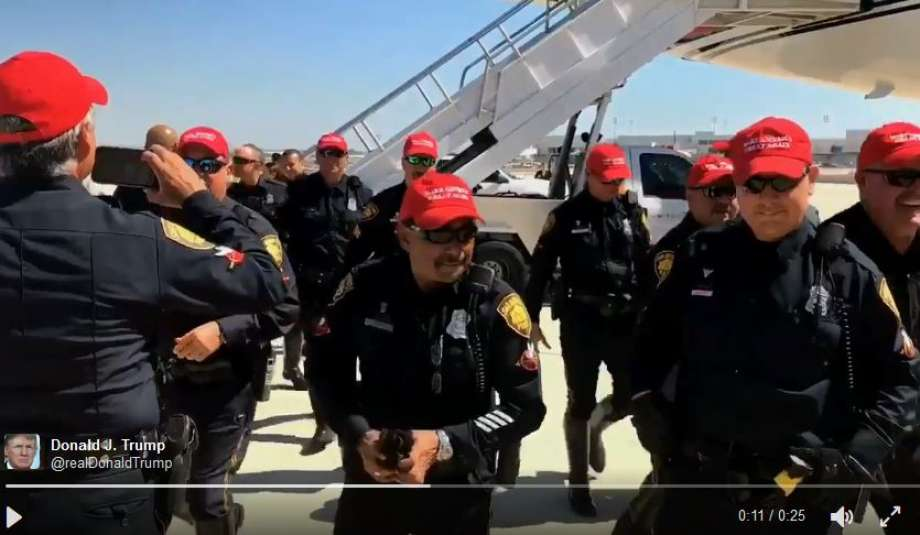 Police Officers Face Discipline For Wearing 'Make America Great Again' Caps