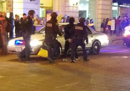arrest-during