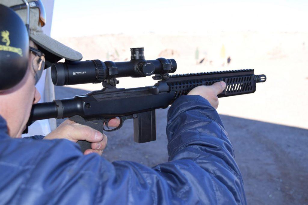 Inland M-1 Carbine with Sage Stock. Photo: Kim Heath