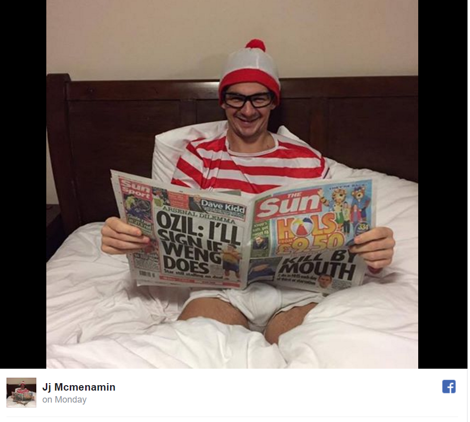Man Dressed As Waldo Taunts Police Searching For Him