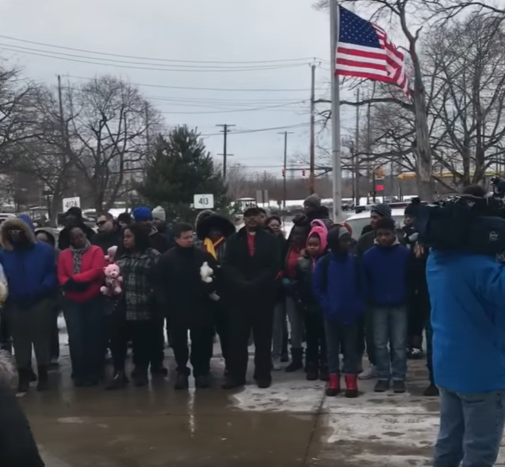 Marchers Thank Cleveland Police For Work In Case