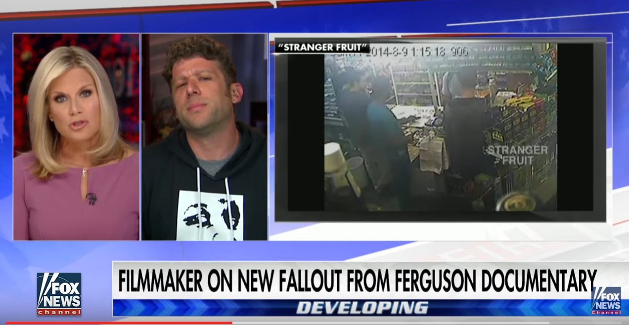 Filmmaker Screams In Defense Of Michael Brown