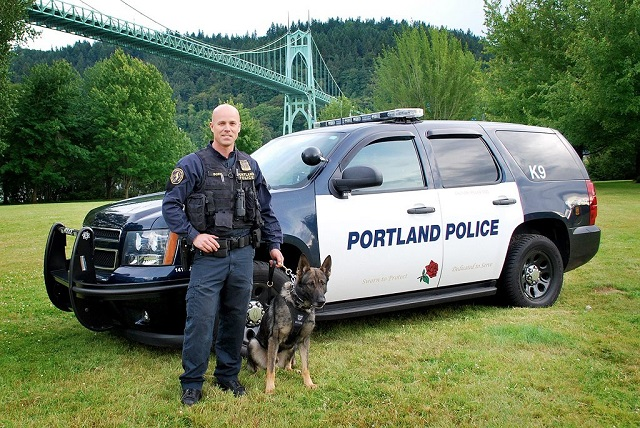 Portland K9 Officer Loses Second Partner In 2 Years