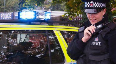 officer on radio