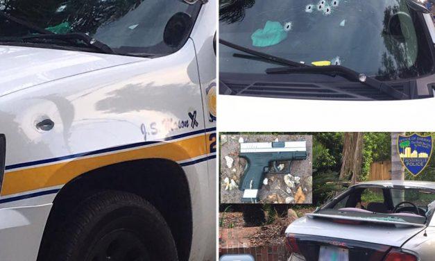 Jacksonville Deputy Shot Chasing Bank Robbery Suspect