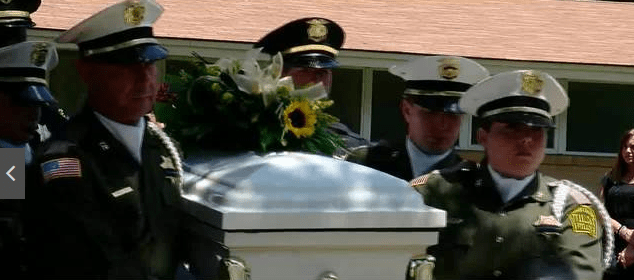 Tulsa Police Serve As Pallbearers For Funeral Of 5 Year Old, Honorary Police Officer
