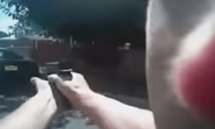 Watch Police Officer Fatally Shoot Man After He Points Gun