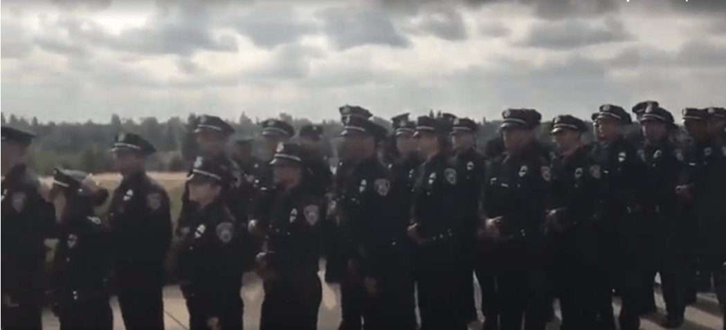 Two Police Officers Shot As Sacramento Gathers For Fallen Officer Memorial