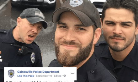 """Three Lessons from the Gainesville """"Hot Cop"""" Selfie"""