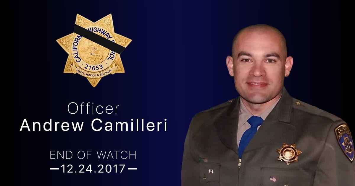 California Highway Patrol Officer Dies In Christmas Eve Crash