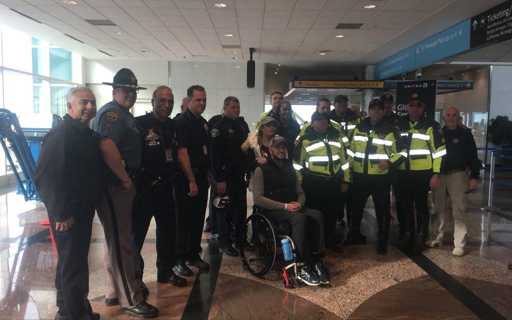 Deputy Returns Home, Paralyzed, After Las Vegas Shooting