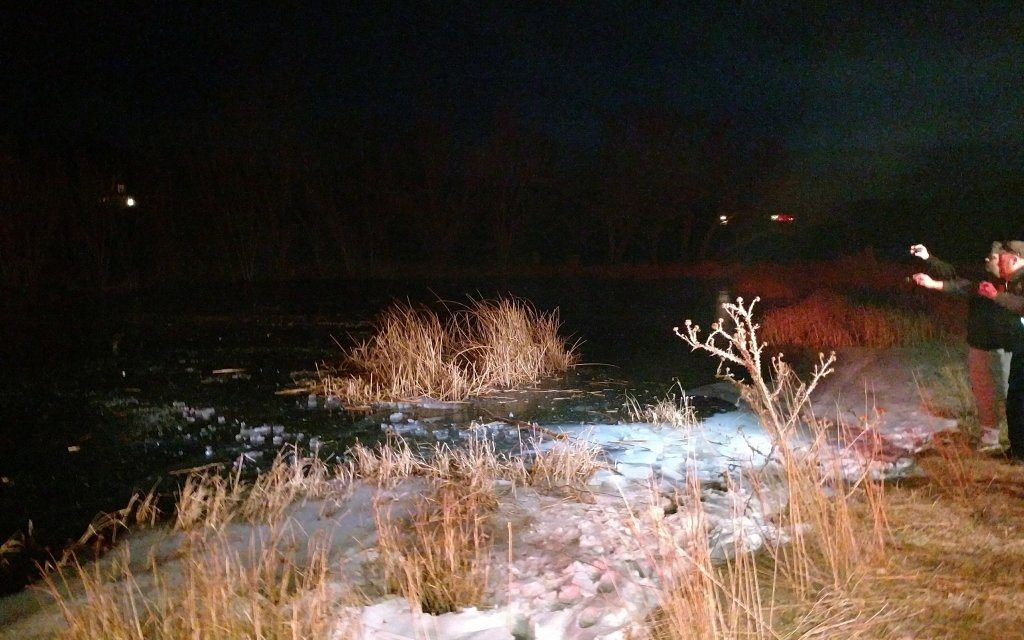 Christmas Hero: Police Officer Punches Through Frozen Pond To Rescue Boy Under The Ice