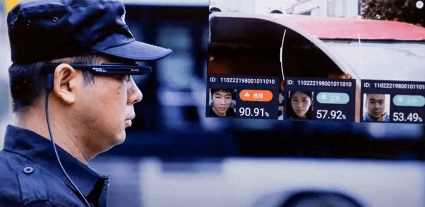 Beijing Police Using Facial-Recognition Glasses To Identify Citizens