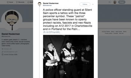 North Carolina Officer's Tattoo Raises Concerns