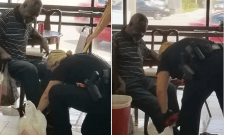 Florida Officer Purchases Clothes For Man In Need