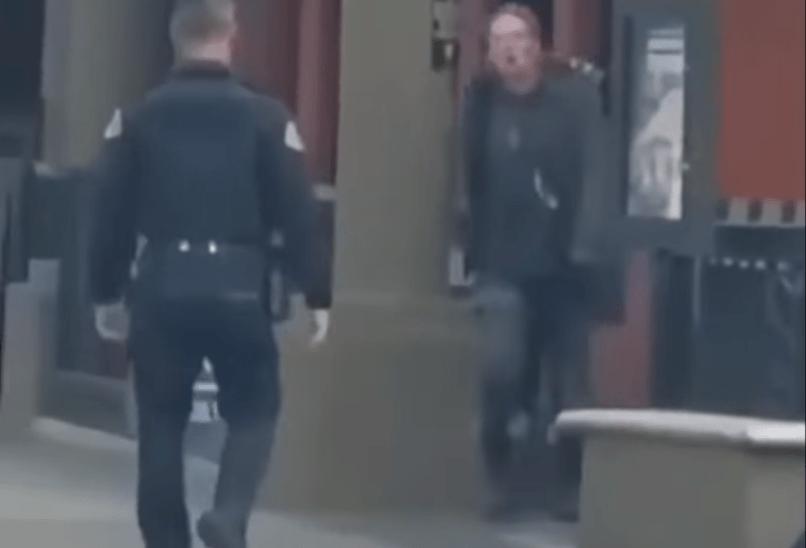 Watch: Cop Slams Antifa To The Ground