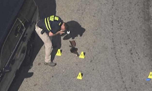 Man With Replica Machine Gun Killed By Police