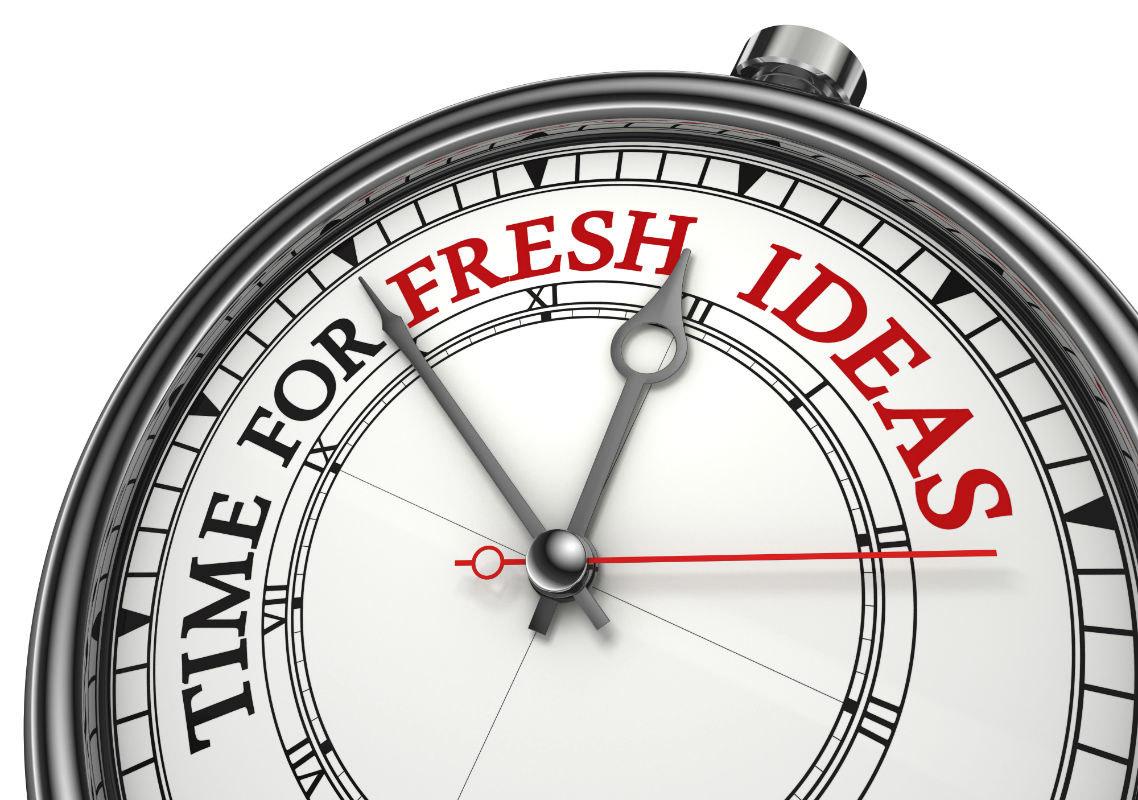 Four Fresh Ideas