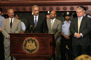 AG Holder Announces Police Hiring Grants