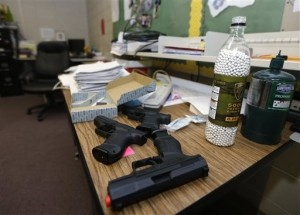 Arkansas School District Arms Teachers, Staff