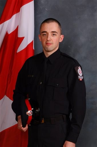 Canada Police Officer Shot Dead