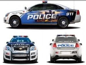 Detroit Receives 100 New Police Cars