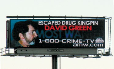 Digital Billboards Track Fugitives