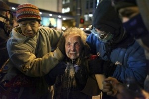 "Elderly Seattle Woman is New Face of ""Occupy"" Protests"