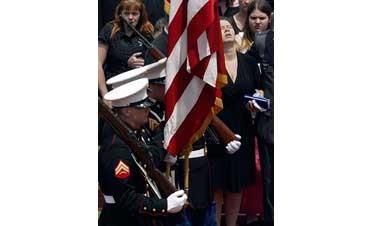 Fallen Pa. trooper remembered as hero, joker