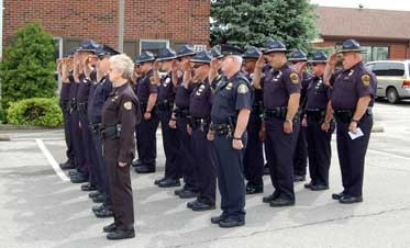 Fallen police officers remembered in Radcliff