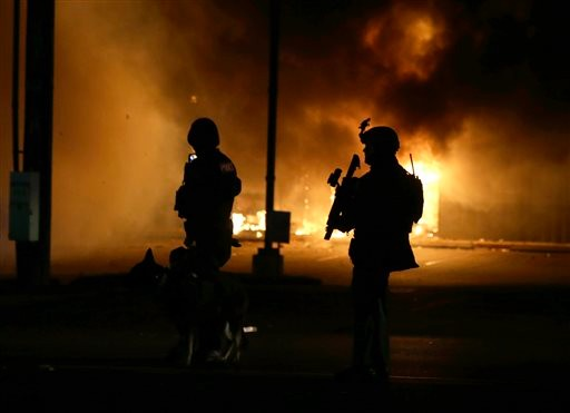 federal report faults police actions during ferguson unrest law
