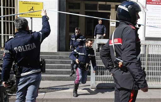 Gunman Opens Fire in Italian Courthouse
