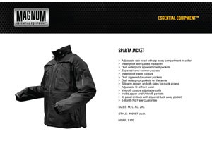 Magnum Releases New Line of Insulated, Waterproof Jackets