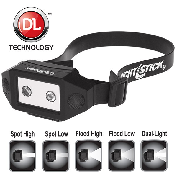 New Nightstick NSP-4614B Dual-Light Headlamp Fits More Functionality into More Places