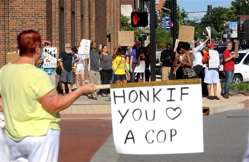 No Arrests in Latest Ferguson Protest