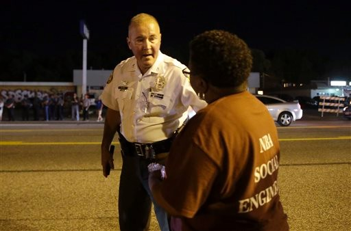 Peaceful Protest Overnight in Ferguson